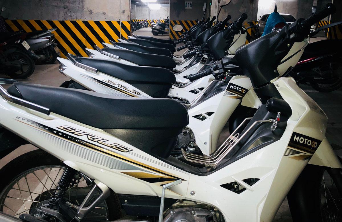 Dịch vụ cho thuê xe máy giá rẻ tại Motogo