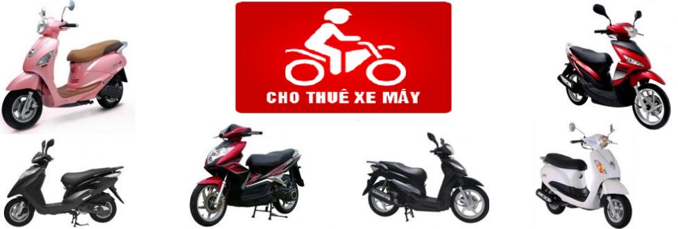 Dịch vụ cho thuê xe máy rất phổ biến tại Hà Nội