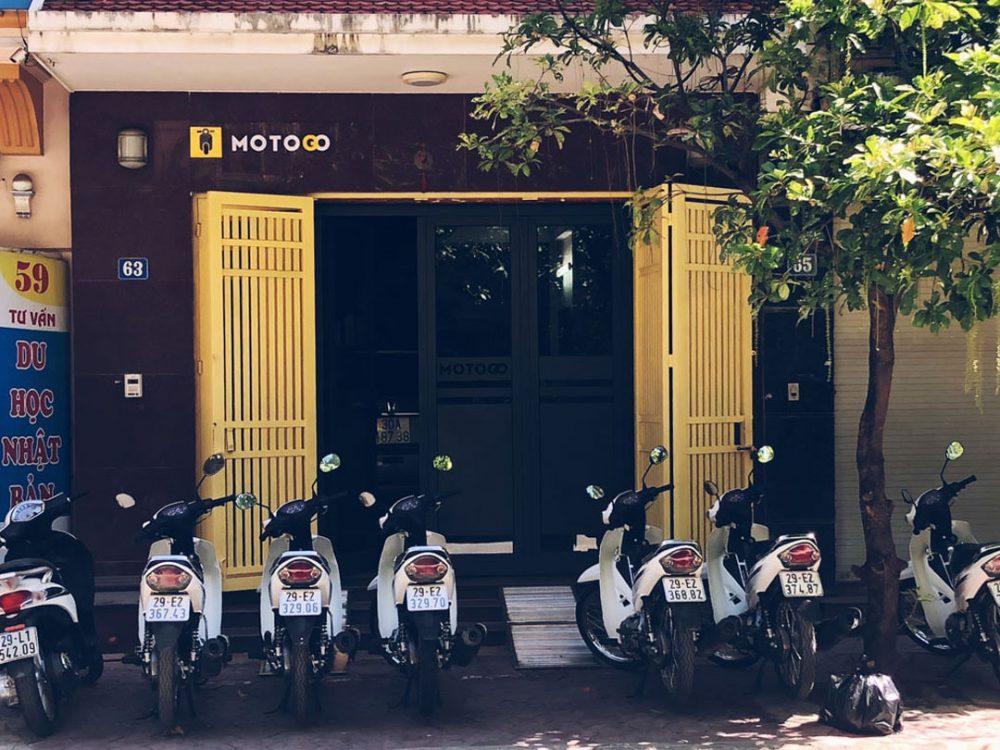 Thuê xe máy Hà Nội MOTOGO