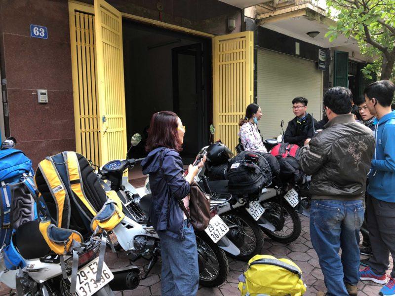 Điểm thuê xe máy tại Hà Nội