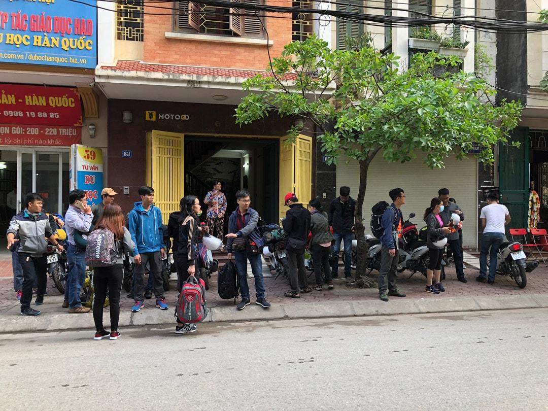 Cửa hàng cho thuê xe máy tại Thanh Xuân Hà Nội