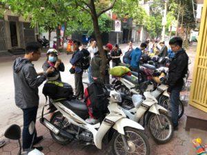 Motogo chuẩn bị xe cho khách du lịch