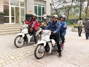 Du lịch Hà Nội bằng xe máy