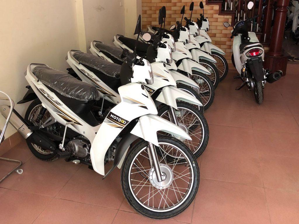 Hệ thống xe mới thuộc cửa hàng Motogo