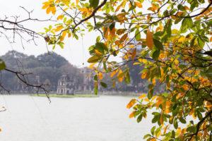 Hồ Gươm vào thu