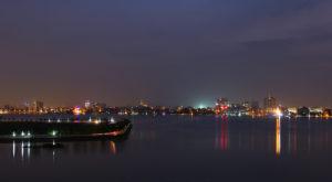 Hồ tây về đêm