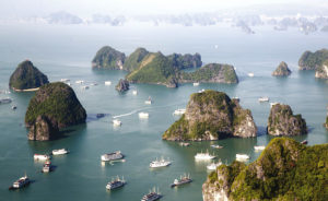 Phong cảnh Vịnh Hạ Long