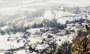Sapa chìm trong tuyết trắng