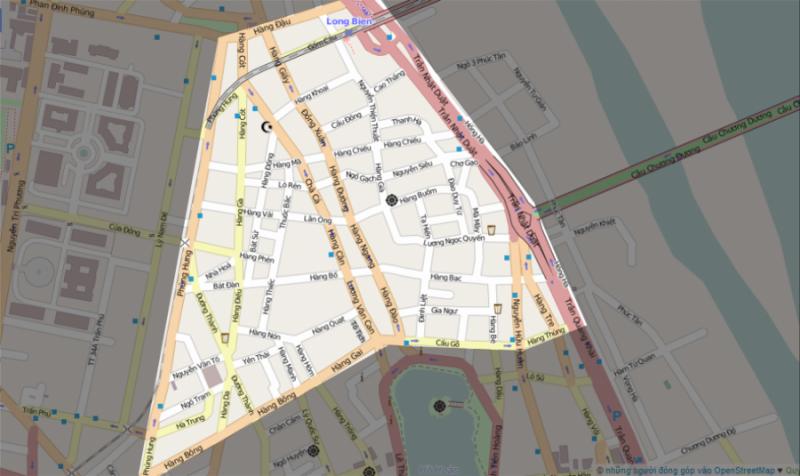 Bản đồ khu phố cổ