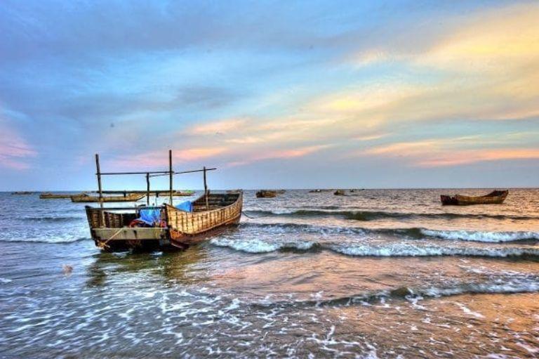 Bãi biển Đồng Châu - Thái Bình   Phượt biển gần Hà Nội
