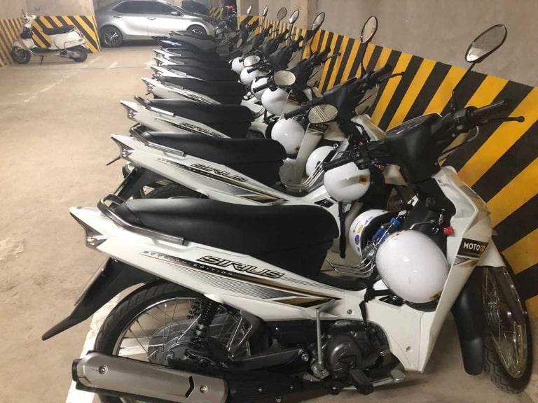 Quy trình thuê xe dễ dàng sẽ đem lại một chất lượng dịch vụ thuê xe máy du lịch Hà Nội hoàn hảo