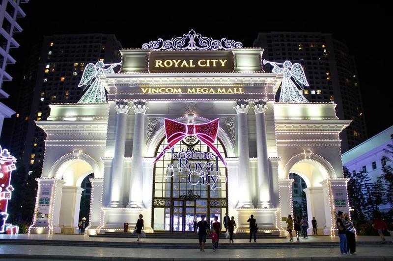 khu vui chơi royal