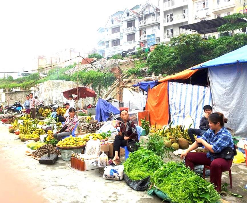 Một góc chợ Tam Đảo(Ảnh ST)