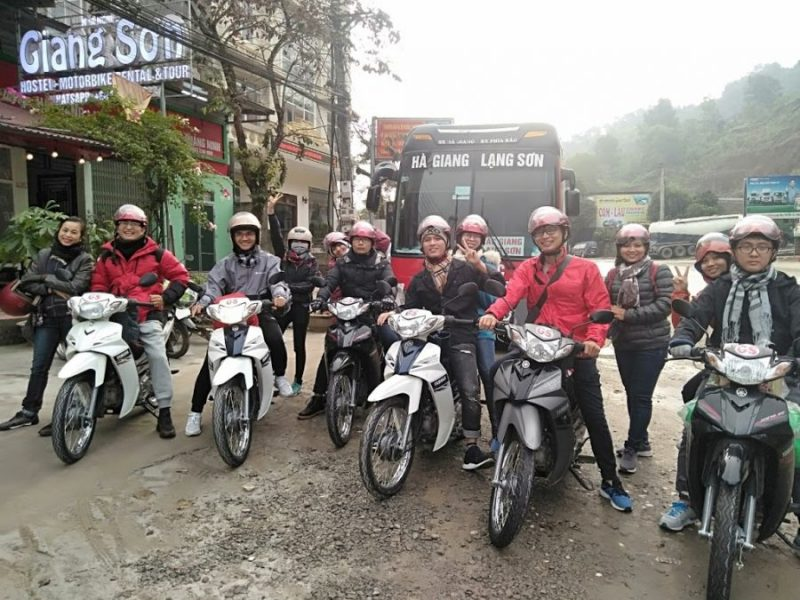 Thuê xe máy Giang Sơn