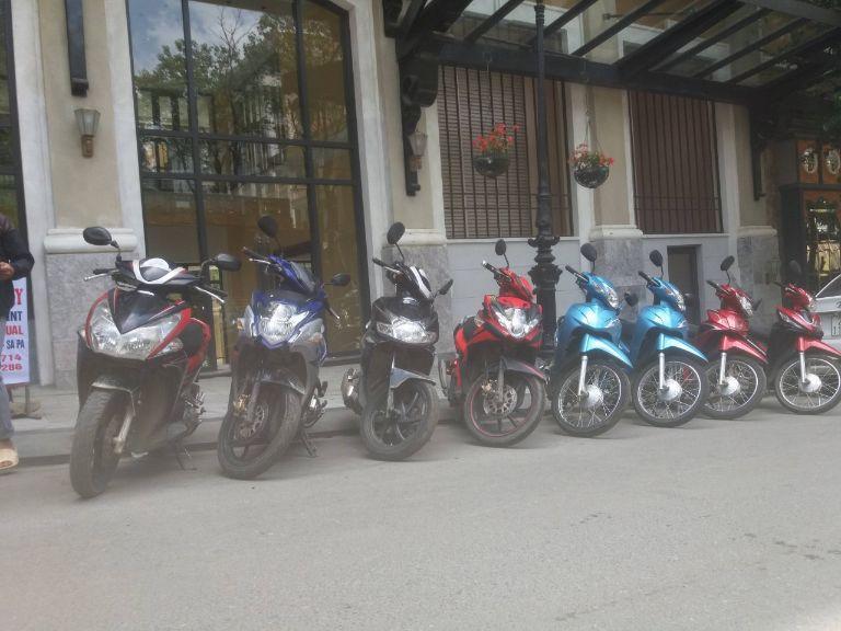 cho thuê xe máy tại Sa Pa