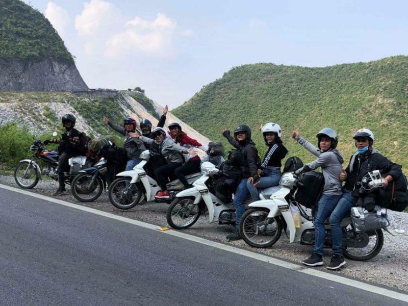 phuot Sapa bằng xe máy