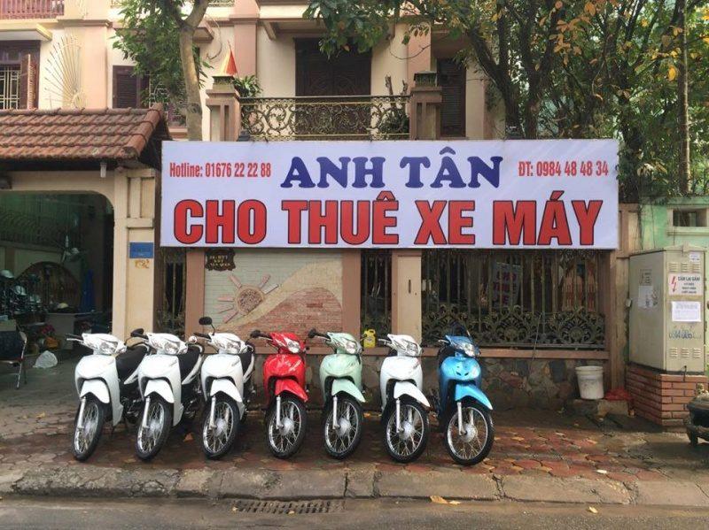 Thuê xe máy Anh Tân