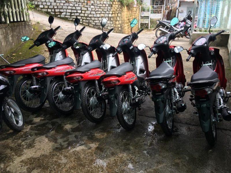 Cho thuê xe máy Như Hà