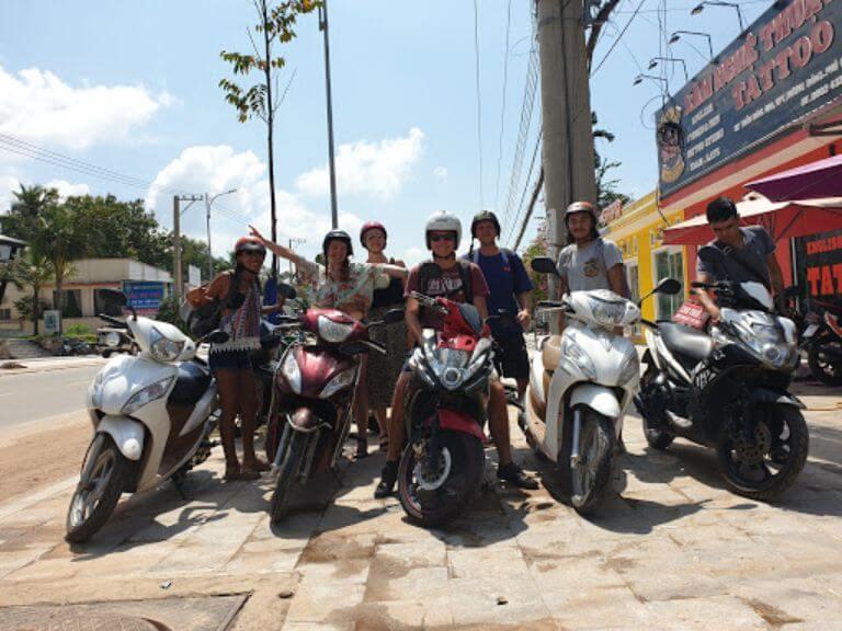 Thuê xe máy Anh Phát - Phú Quốc