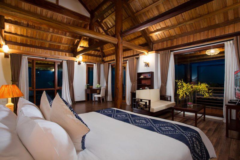 mai chau Hideaway resort room 4