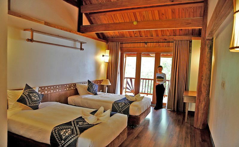 mai chau Hideaway resort room