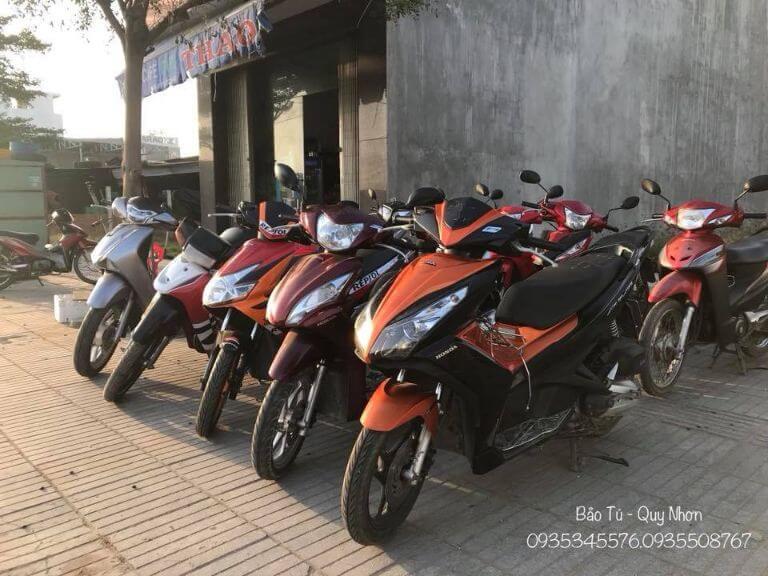 Cho thuê xe máy Quy Nhơn - Bảo Tú