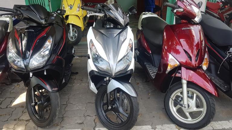 Thuê xe máy Sơn Trà Đà Nẵng
