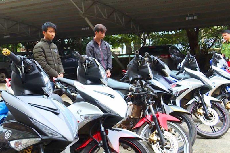 những tên trộm xe máy ở Sài Gòn