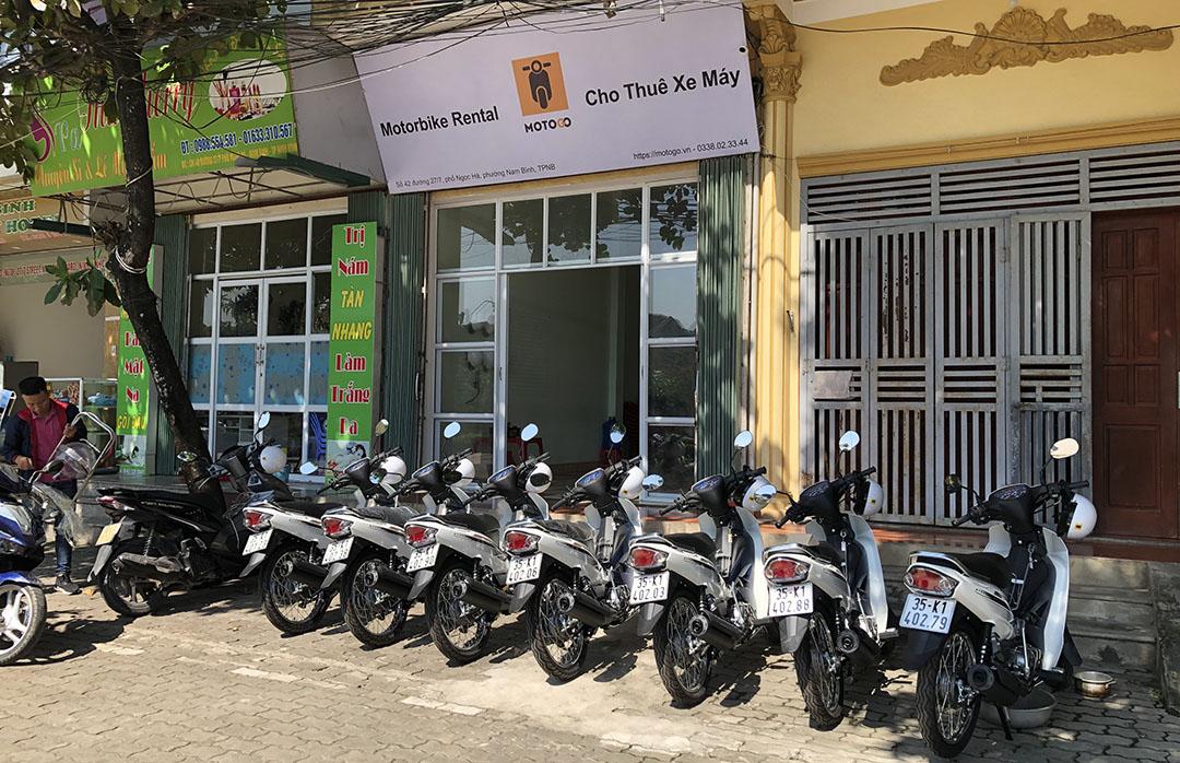 Thuê xe máy Ninh Bình