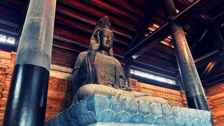 Điện Quan Âm - chùa Tam Chúc