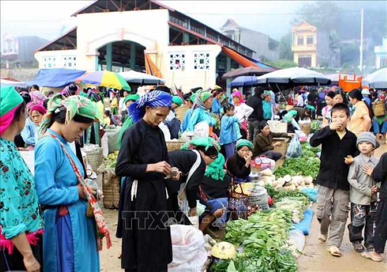 Chợ hà giang