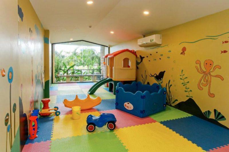 khu vui chơi trẻ em tại resort