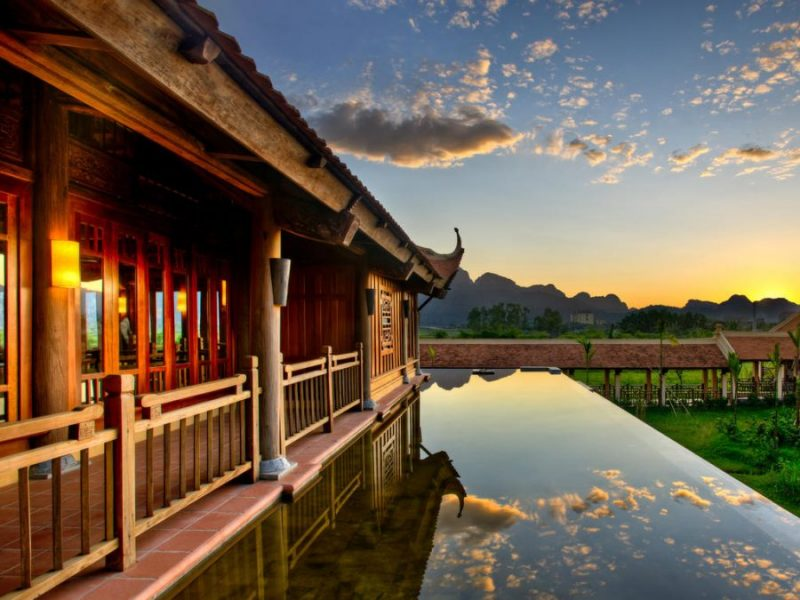 Emeralda Resort Ninh Bình, một trong những resort miền Bắc nổi tiếng