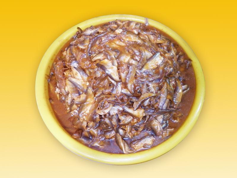Mắm cá linh - Búng Bình Thiên