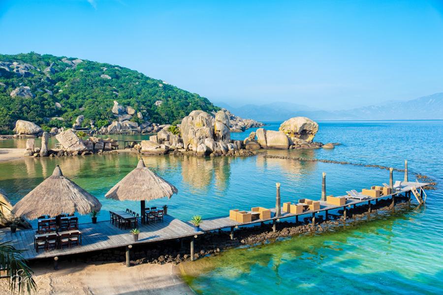 Đảo Bình Hưng - bãi biển Nha Trang