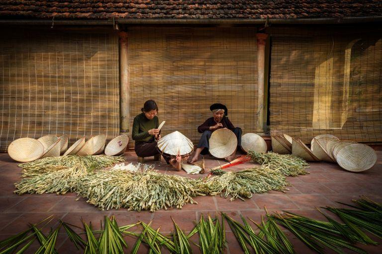 Cuộc sống người chăm - Búng Bình Thiên