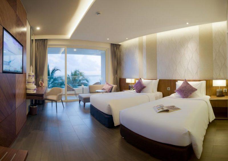 nội thất phòng khách sạn Seashells Phú Quốc