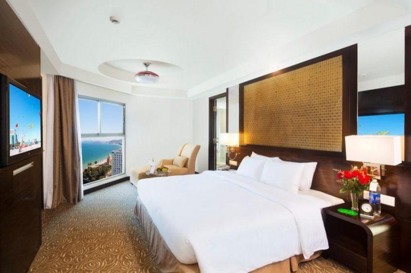 phòng ngủ Khách sạn Havana Nha Trang