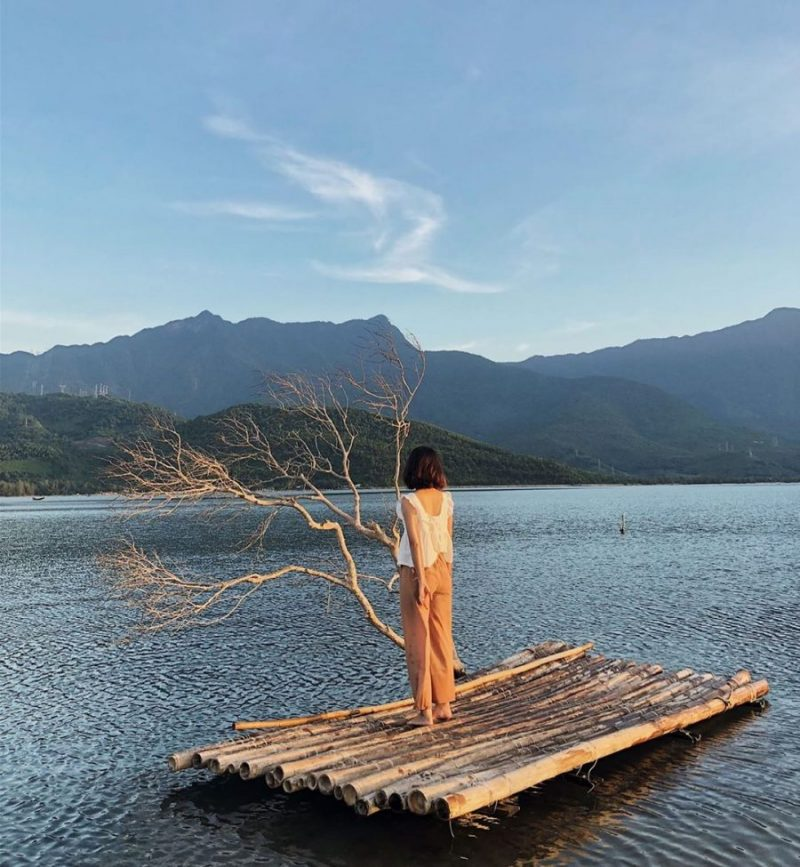 đầm lập an - cảnh đẹp ở Huế