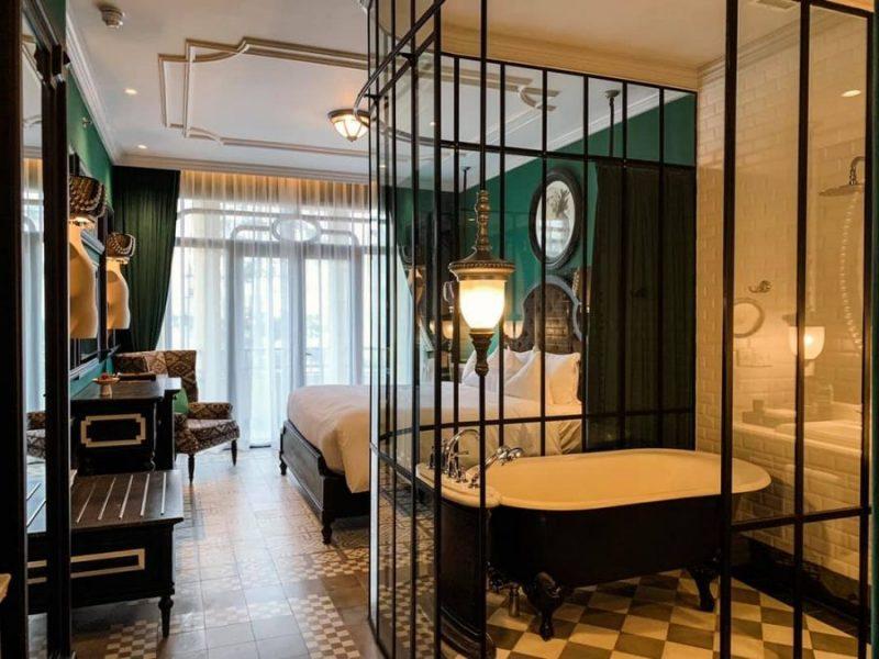 phòng nghỉ tại khách sạn MGallery Sapaer