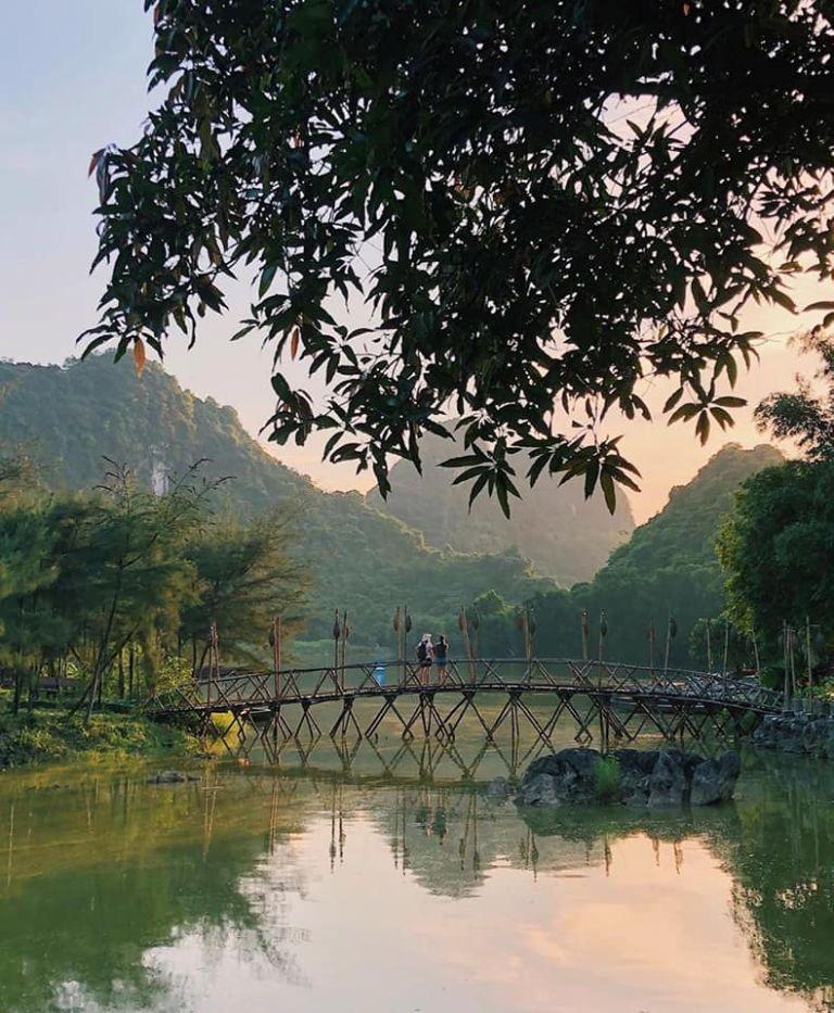 Góc nhỏ ở Thung Nham