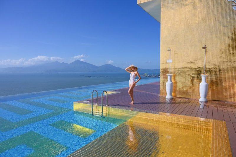 view tại Golden Bay hotel Đà Nẵng