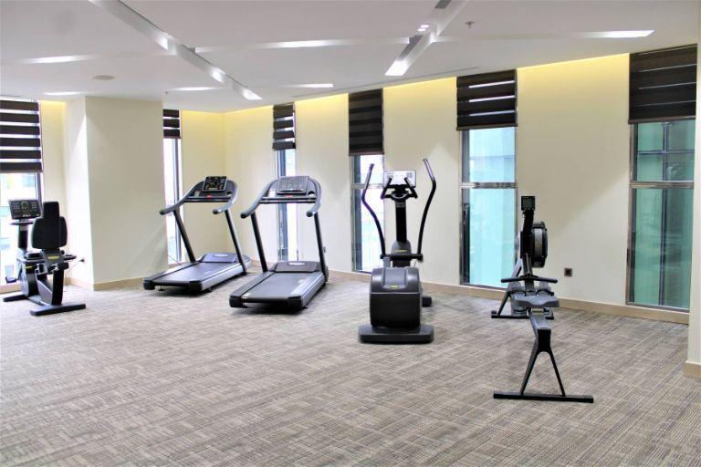 Phòng Gym tại khách sạn The Art Nest