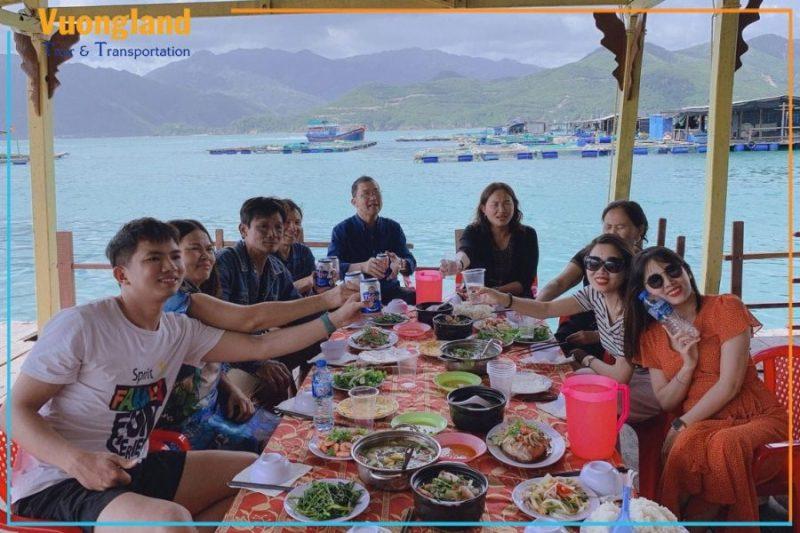 buffet trên đảo