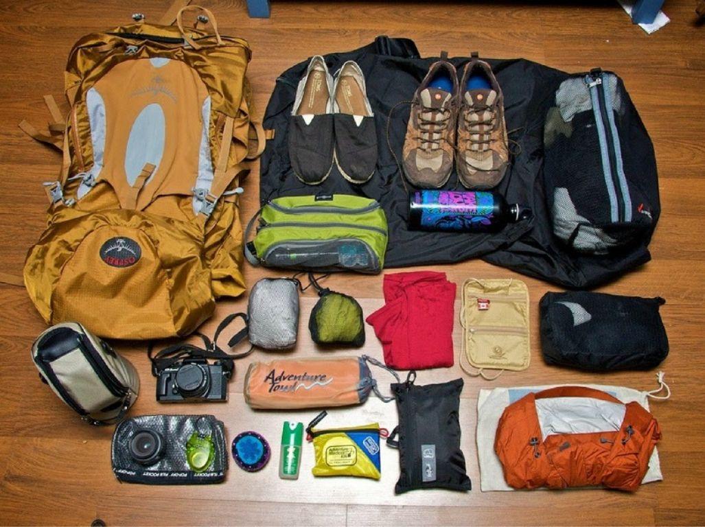 đồ dùng cá nhân khi đi du lịch