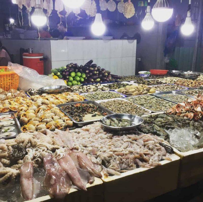 hải sản - ăn gì ở Vũng Tàu