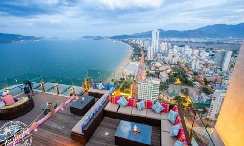 ngắm bình minh ở Khách sạn Havana Nha Trang