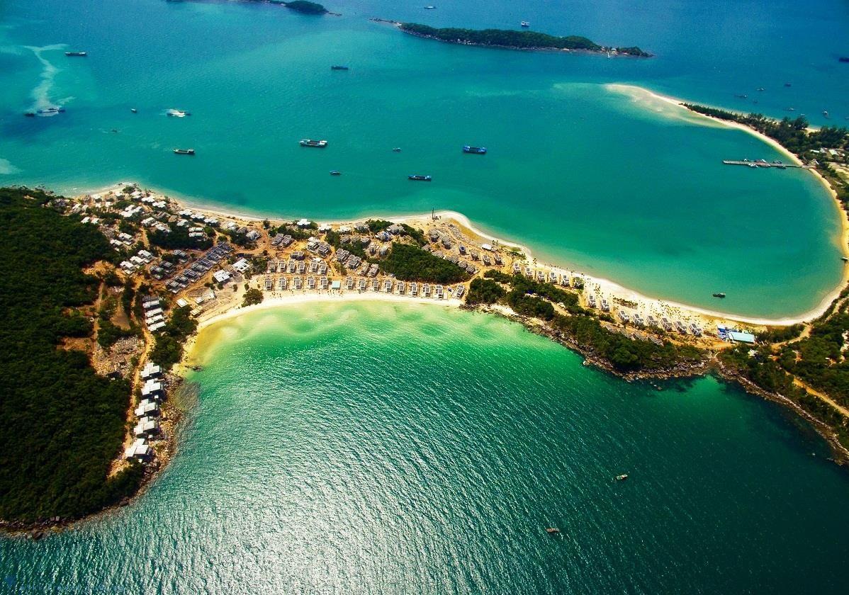 Cảnh đẹp bao quanh bốn phía là biển – Đảo Ngọc Phú Quốc