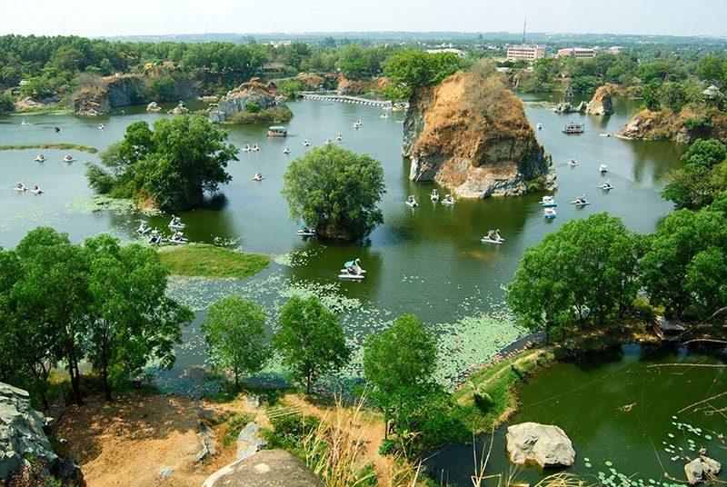 Khu du lịch Bửu Long địa điểm gần Sài Gòn