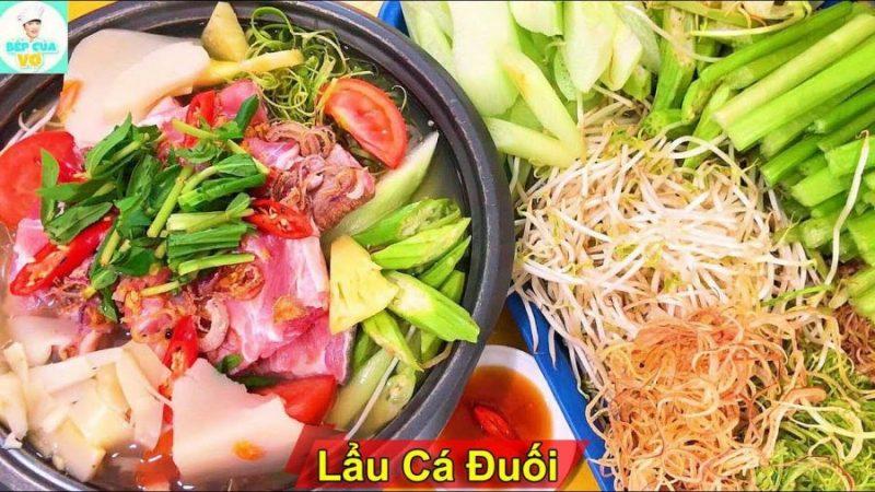 ăn gì ở Vũng Tàu _ lẩu cá đuối